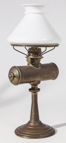 Brass Student Oil Lamp