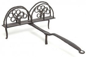 Outstanding Wrought Iron Toaster