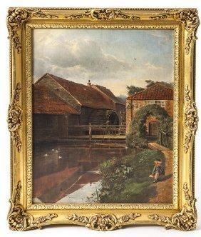 George Ruston (british) Oil Painting