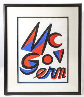 Alexander Calder (american 1898 - 1976) Lithograph