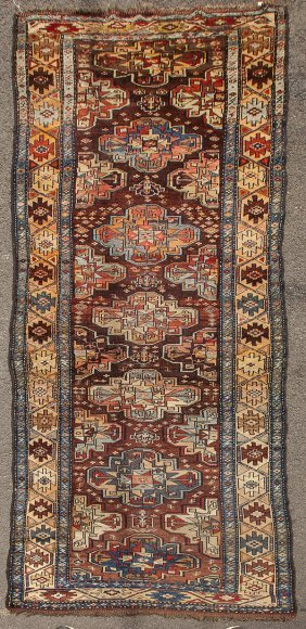 Semi Antique Karabaugh Oriental Runner