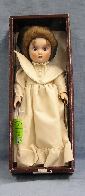 Vintage Porcelain Catharine Doll By Gibson