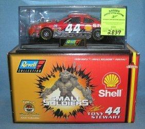 Vintage Nascar Shell Car #44 Tony Stewart Mint With