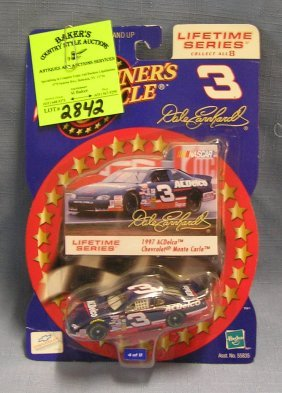 Vintage Nascar Dale Earnhardt #3 Race Car Mint On Card