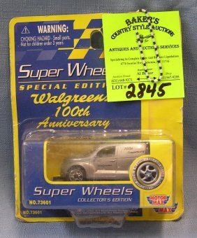 Vintage Super Wheels Panel Truck Mint On Card