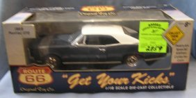 Vintage 1966 Pontiac Gto All Cast Metal American Muscle