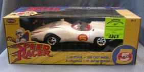 Vintage All Cast Metal Speed Racer Mach Five Character