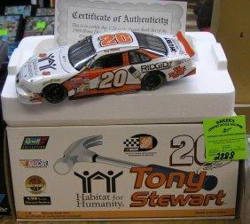 Nascar Tony Stewart Race Car #20 Home Depot Ridged