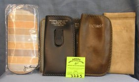Group Of Vintage Eye Ware Cases