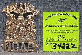 Vintage Police Badge