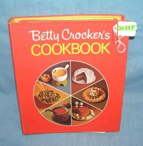 Vintage Betty Crocker Cook Book