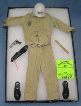 Original Gi Joe Military Police Outfit