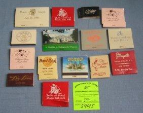 Group Of Vintage Matchbooks