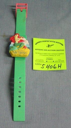 Vintage Little Mermaid Wristwatch
