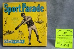 Vintage Castle Films Sports Parade 8mm Film