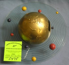 All Cast Metal Planet Bank