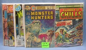 Group Of Early Monstor And Horror Comic Books