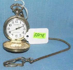Us Bicenntennial Pocket Watch And Chain