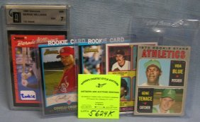 Group Of Vintage Rookie All Star Baseball Cards