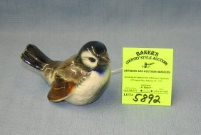 Vintage Goebel Porcelain Bird