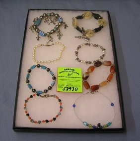Collection Of Quality Costume Jewelry Bracelets