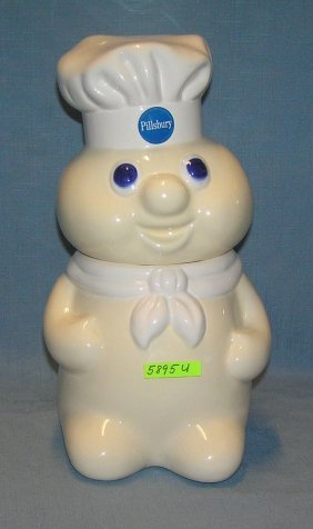 Vintage Pillsbury Dough Boy Figural Cookie Jar