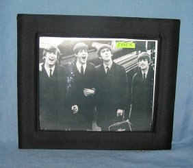 8 Inch By 10 Inch Beatles Framed Photo