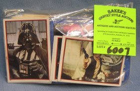 Group Of Vintage Star Wars Movie Cards And More