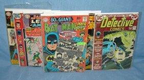 Batman, Wonder Woman And Superman Comic Books