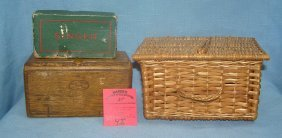 Group Of Vintage Sewing Collectibles