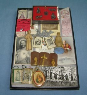 Group Of Religious Collectibles
