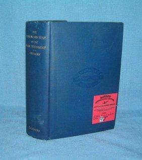 Vintage New Testament Bible 1907