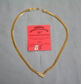 Quality Gold Plated Necklace