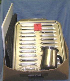 Box Of Estate Cooking And Kitchenwares