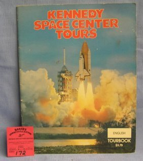 Vintage Kennedy Space Center Tour Book