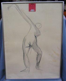 Original Semi Nude Artwork