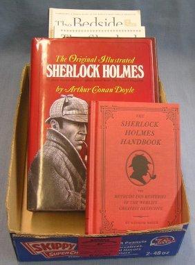 Box Full Of Sherlock Holmes Books