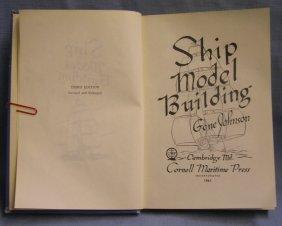 Vintage Ship Model Building Book