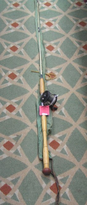 Montague Sea Lake No. 8730 Fishing Pole & Reel