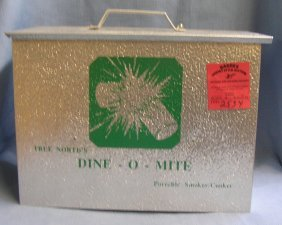Dine-o-mite Portable Smoker And Cooker