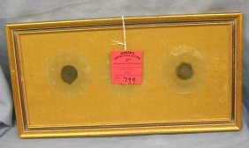 Early Gold Toned Picture Frame