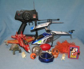 Group Of Vintage Modern Collectible Toys