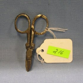 Pair Of Wwi Medical Scissors
