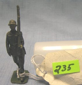 Vintage Wwii German Toy Soldier