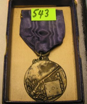 Wwii Competition Us Shooting Medal