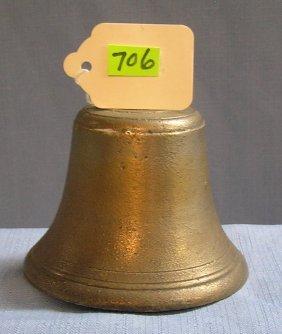 Antique Solid Brass Fire Bell
