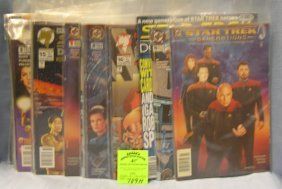 Large Group Of Vintage Star Trek Comic Books