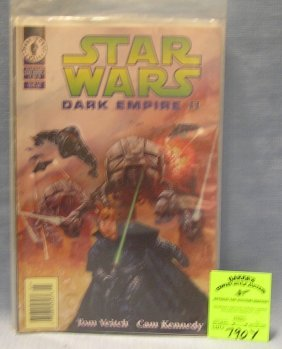 Group Of 5 Vintage Star Wars Comic Books