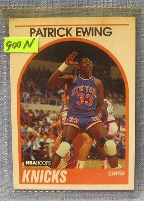 Vintage Patrick Ewing Basketball Card