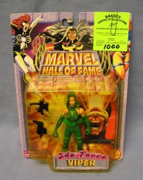 Marvel's Viper Action Figure Mint On Card